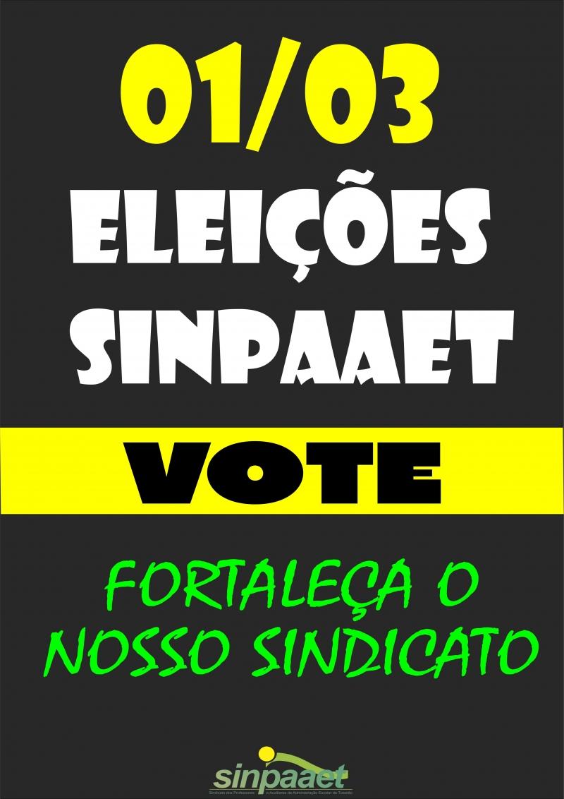 eleicoes-sinpaaet-2018-vote